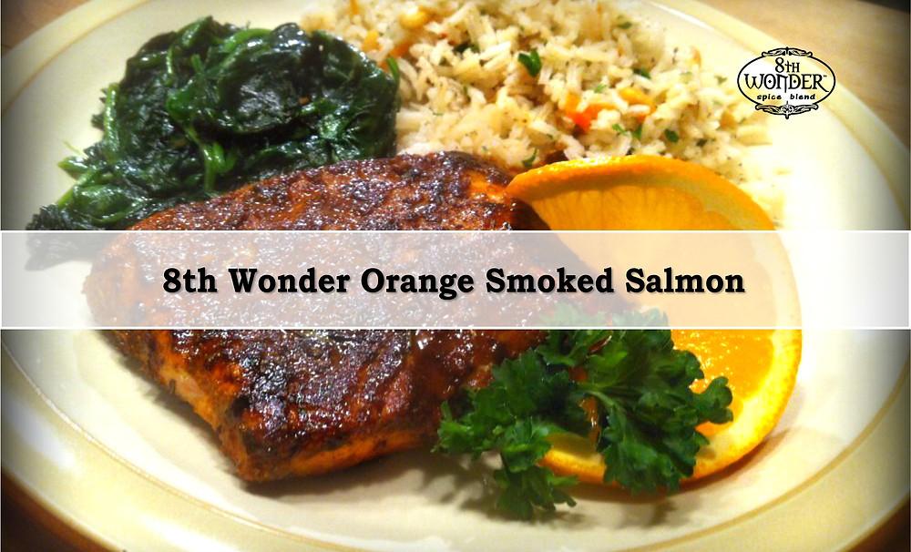 8th Wonder Orange Smoked Salmon
