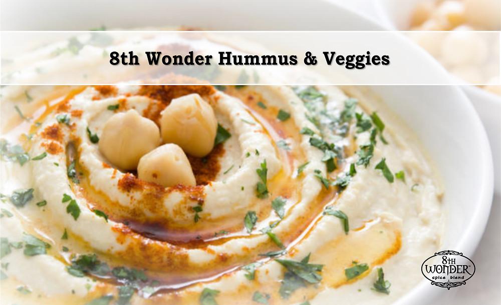 8th Wonder Hummus & Veggies