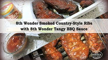 8th Wonder Smoked Country-Style Ribs with Tangy BBQ Sauce