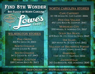 Retail Lowes Foods Locations - 8th Wonde