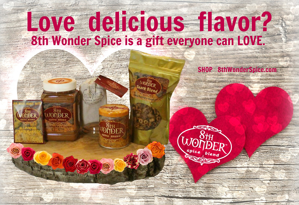 Love Delicious Flavor? Try 8th Wonder Spice Blend for the perfect gift.