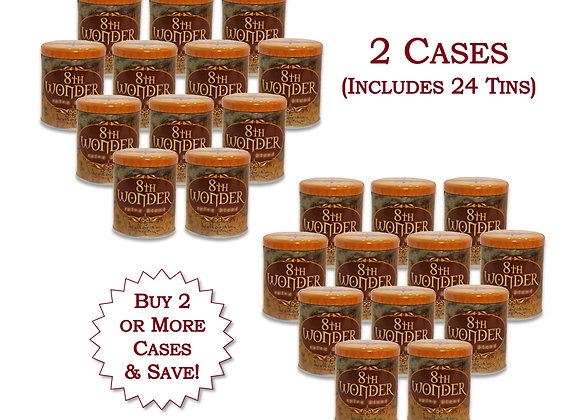 WH 24x (2 Cases) of Tin - 8th Wonder Spice Blend (6.4oz - 155g) 24x