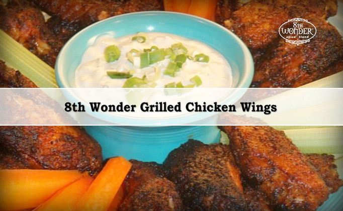8th Wonder Grilled Chicken Wings