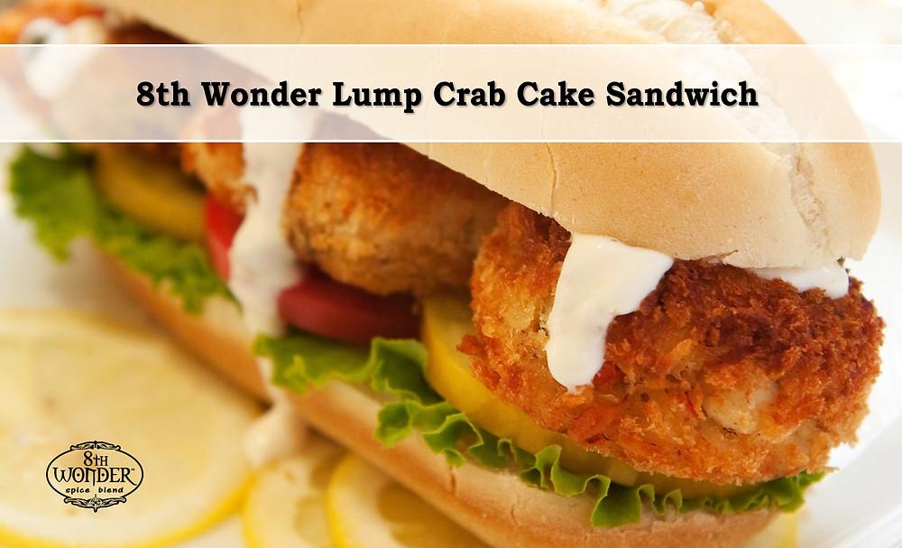 8th Wonder Lump Crab Cake Sandwich