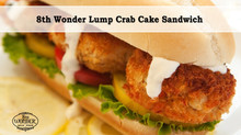 8th Wonder Lump Crab Cake Sandwich