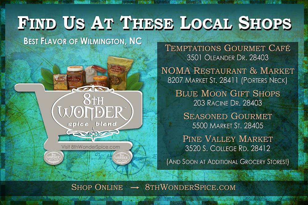 Wilmington Shops that sell 8th Wonder Spice