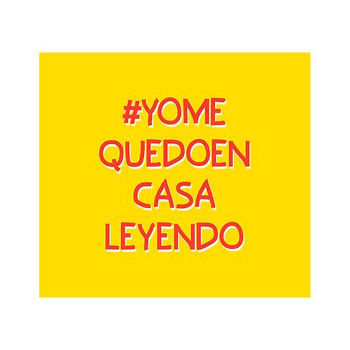 #YoMeQuedoEnCasaLeyendo - 3