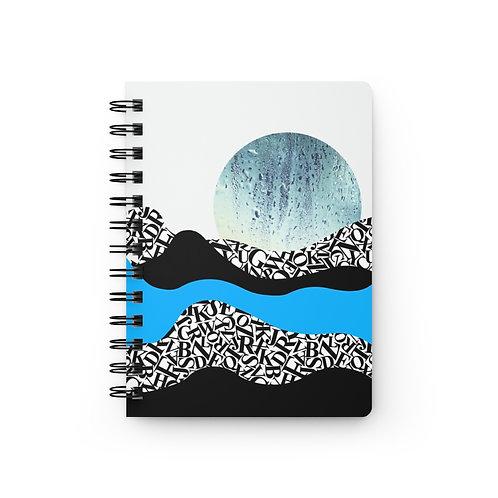 Cuaderno espiral Blue Spring