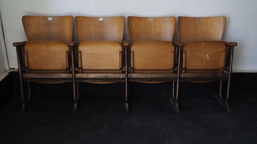 cinema seats Fibrocit 4seats