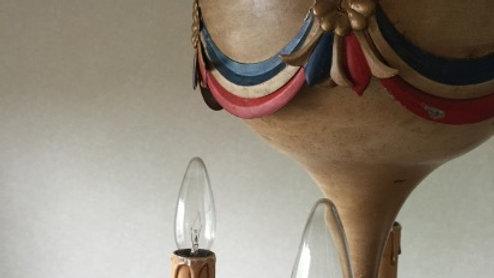 French Balloon chandelier'1950