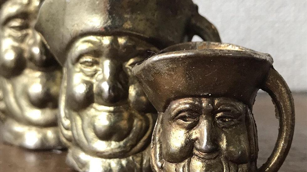 brass measure cups