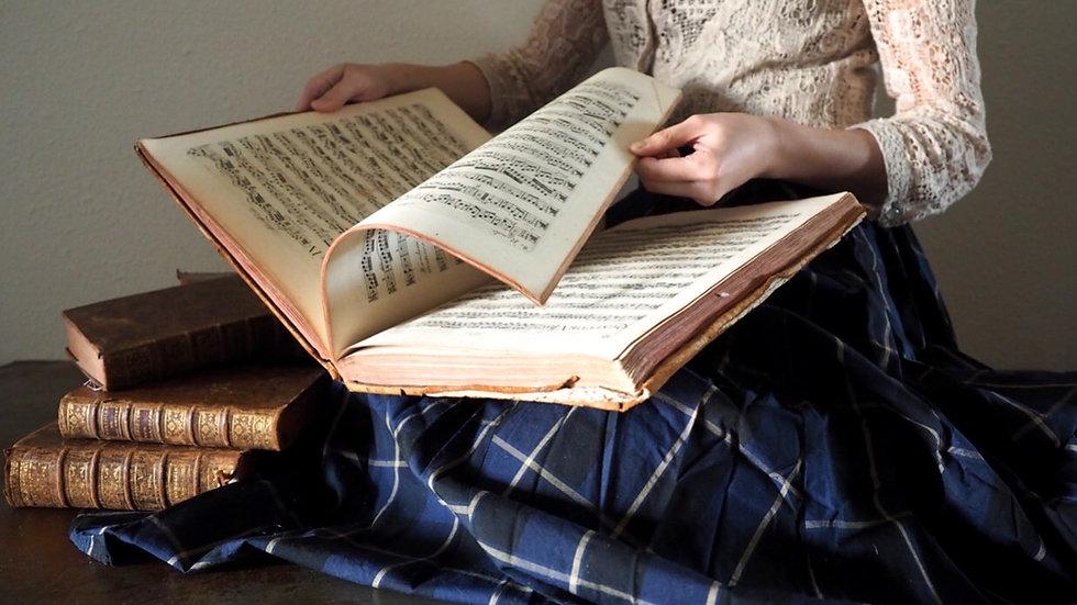Music Book 'Breval Jean Baptiste'
