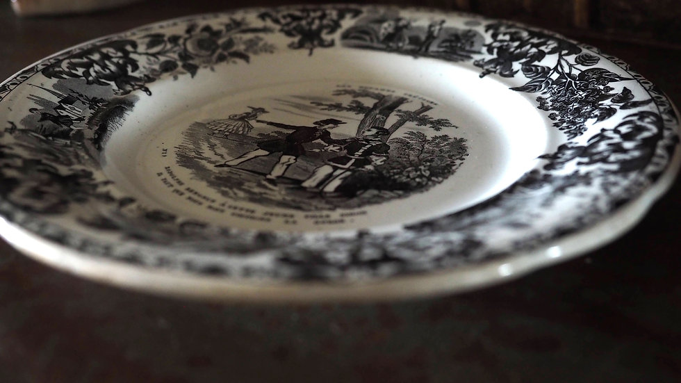 French Plate - Medaille Exposition 1844