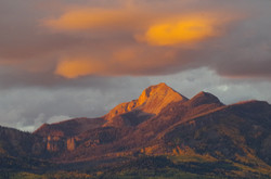 Pagosa Peak sunset