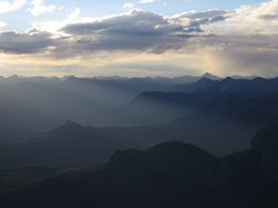 West from Pagosa Peak