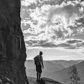 Scaling Squaretop Mountain