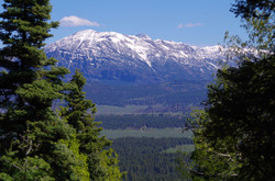 Toner Mountain from Chris Mountain