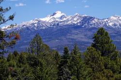 Pagosa Peak from Chris Mountain