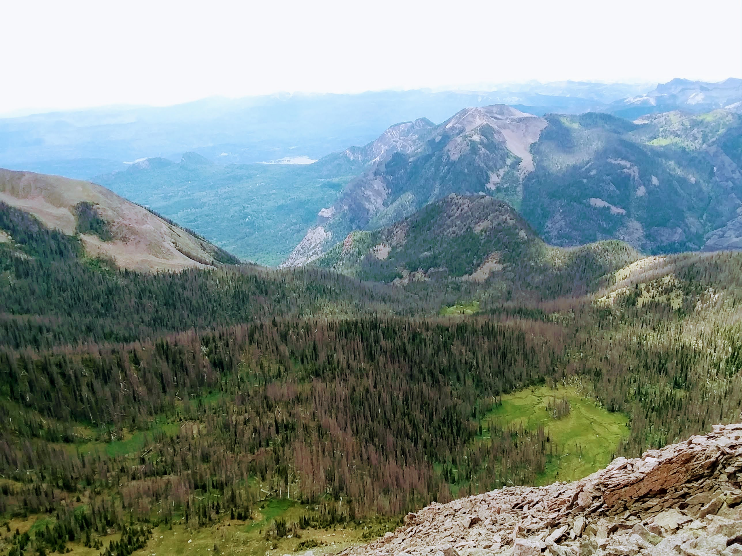 View West from Sugarloaf Mountain