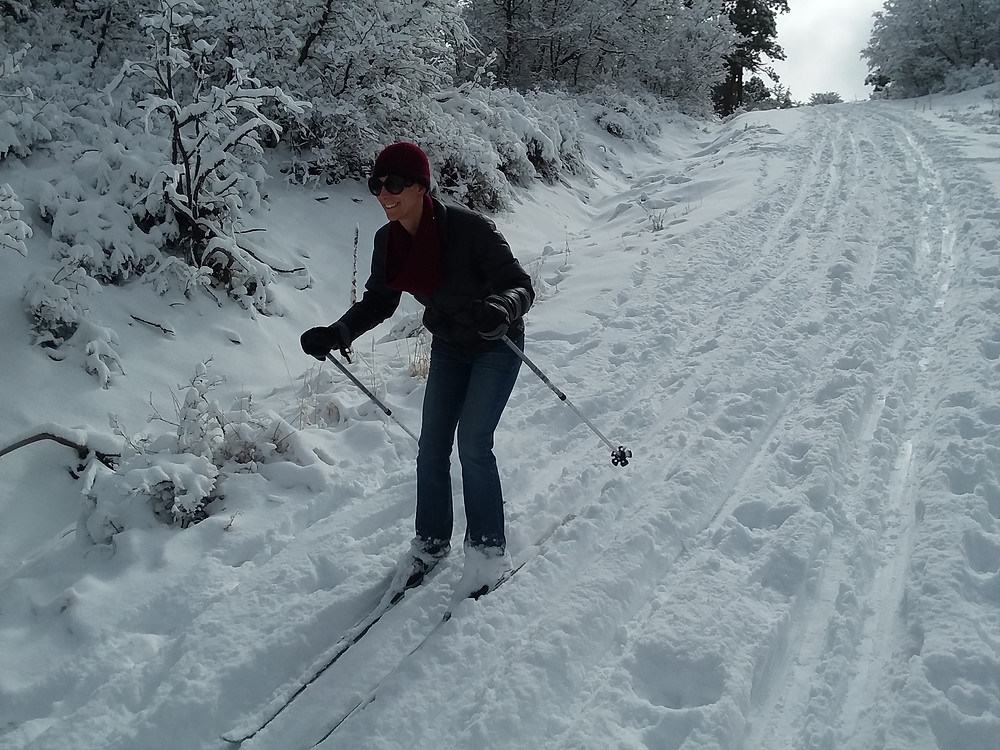 Cross country skiing Lake Hatcher Pagosa Springs