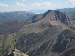 NE from Pagosa Peak