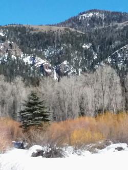 View toward Treasure Falls
