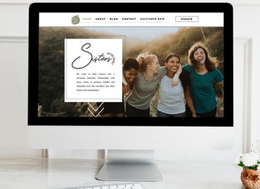 Sisters In The Spirit   Website Design