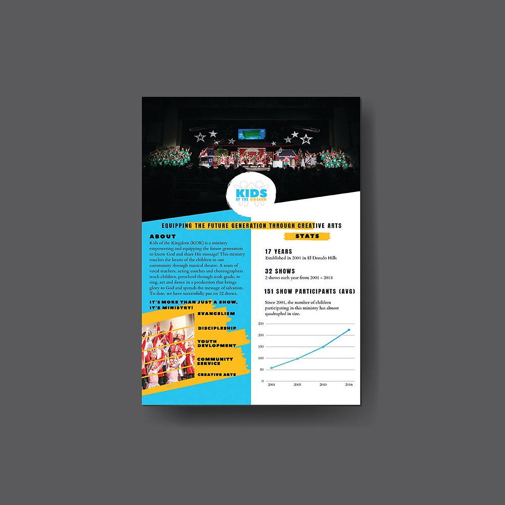 Kids of the kingdom, kok, el dorado hills, ministry, christian performing arts, website design, creative design