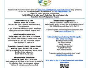 August 2021 Community Engagement Newsletter
