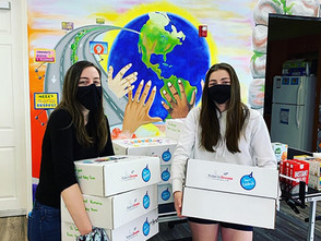Hands4Hope teens wrap birthday parties up in a box