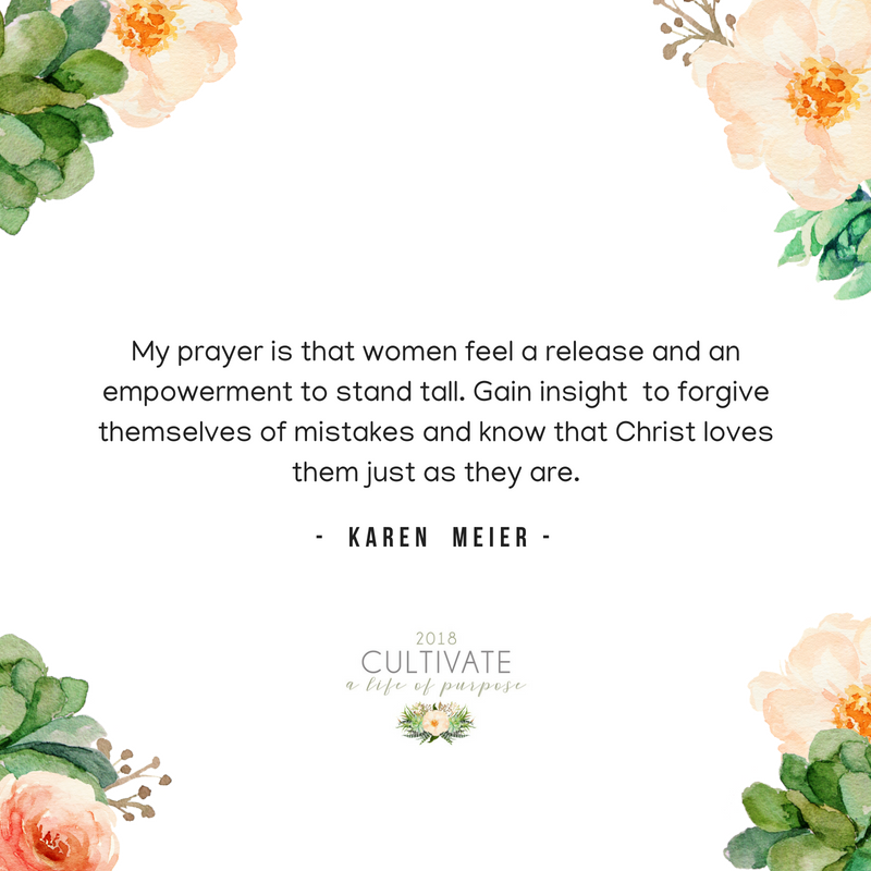 Karen Meier, Purpose, El Dorado Hills, Cultivate, Conference, Women