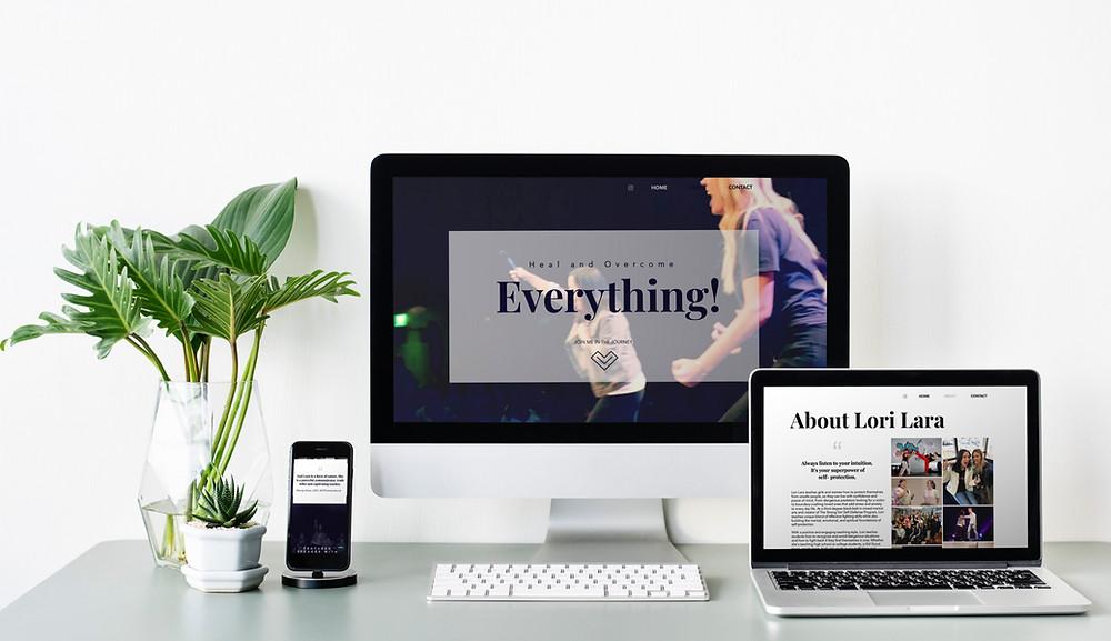 Lori Lara, website design, creative designer, el dorado hills