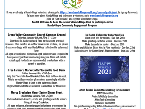 January 2021 Community Engagement Newsletter