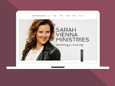 Sarah Vienna | Web & Branding Design