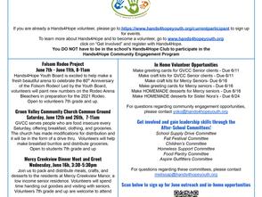 June 2021 Community Engagement Newsletter