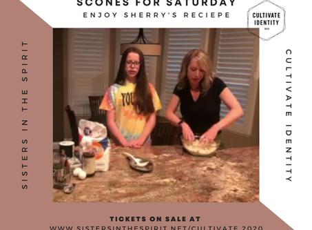 sherry's scone recipe