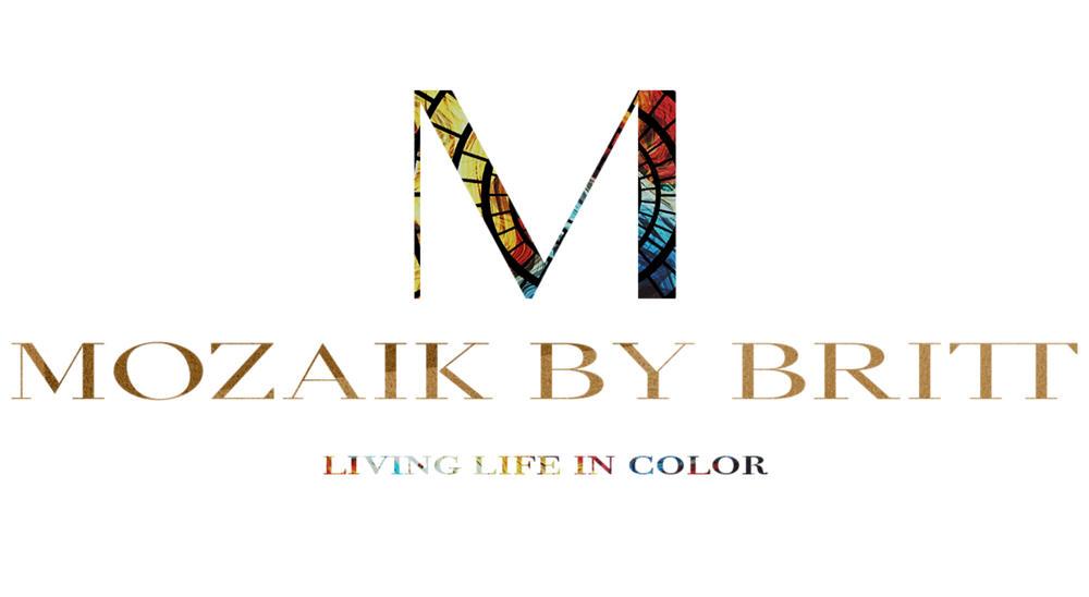 Mozaik By Britt, Sam DeLeon Creative, Logo Design