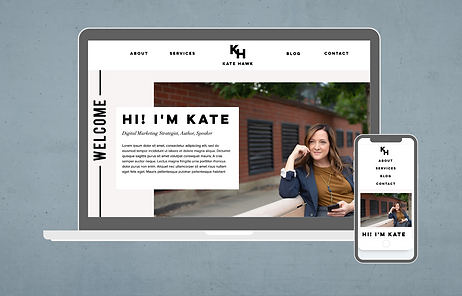 Wix Website Template for business consul