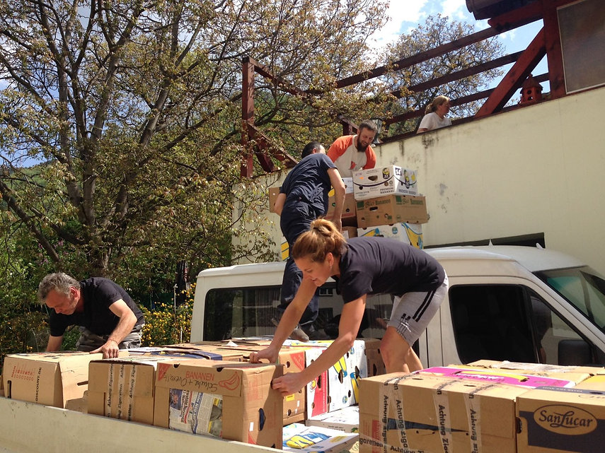 UnloadingFirm Foundations Romania Clothes and More program