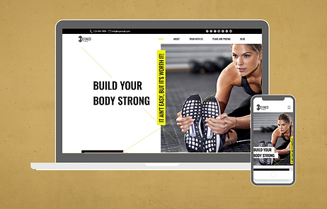 Wix Website Template for fitness coach.p