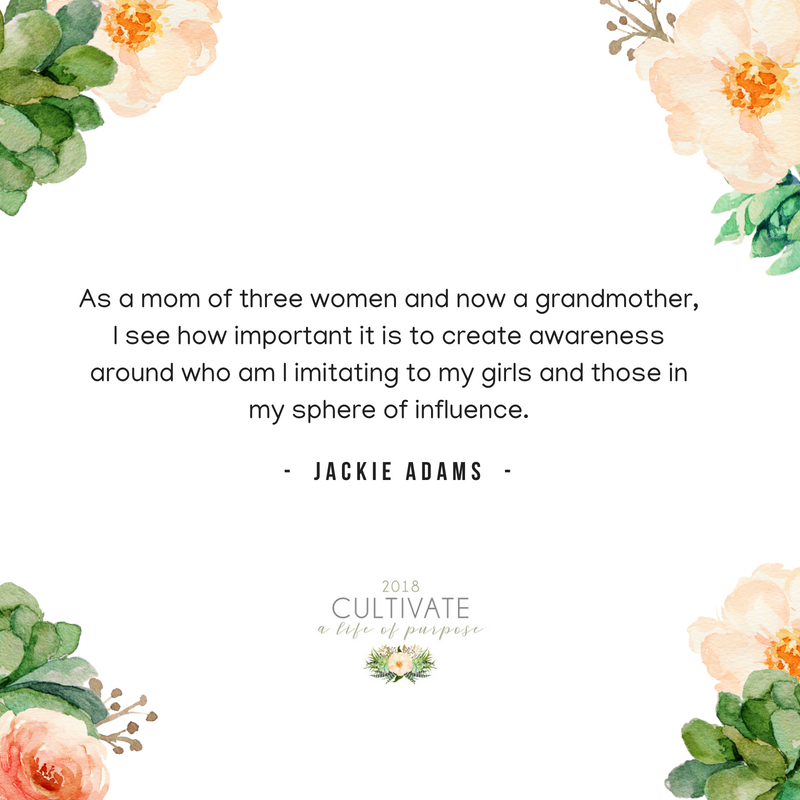 Jackie Adams, Vintage Grace church, El Dorado Hills, Cultivate, Women's conference, life of purpose