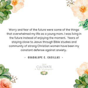 The Unconditional Love of God, Guadalupe C. Casillas, Cultivate, Women's conference, Rolling Hills Church, El Dorado Hills