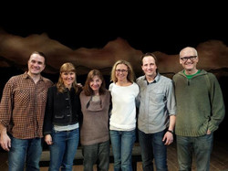 Beth Henley visits the cast!
