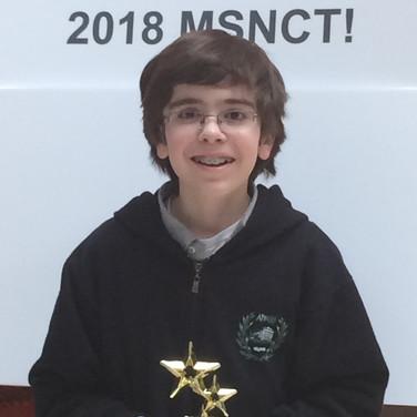 Lukas Koutsoukos All-Star, 2018 MSNCT