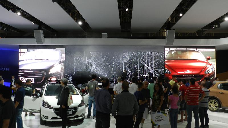 SALÃO DO AUTOMÓVEL PEUGEOT