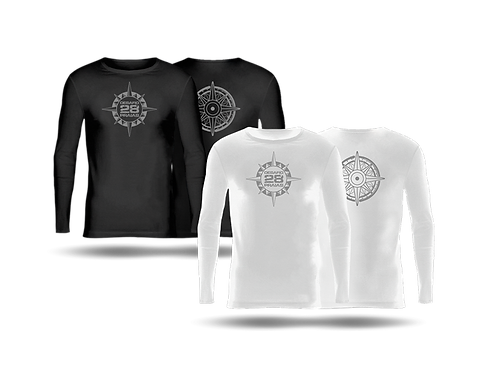 CAMISETA 28 PRAIAS BLACK + WHITE EDITION