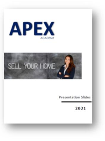APEX Academy Presentation Book