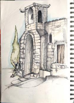 church in Oppede