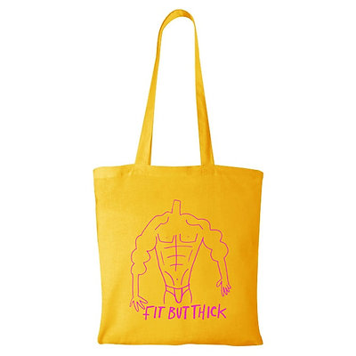 FIT BUT THICK tote