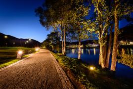 Kvinaparken by night